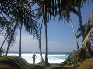 BEACH YOGA IN SRI LANKA - Yoga Holidays, Adventures & Retreats with Wenche Beard